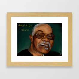Billy F. Rodgers Framed Art Print