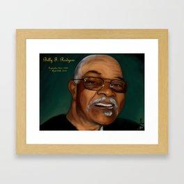 Billy F. Rodgers Framed Art Print
