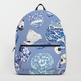Chinoiserie Curiosity Cabinet Toss 7 Backpack