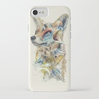 starfox iPhone & iPod Cases featuring Heroes of Lylat Starfox Inspired Classy Geek Painting by Barrett Biggers