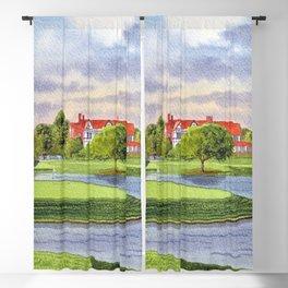 East Lake Golf Course Atlanta GA 15th Hole Blackout Curtain