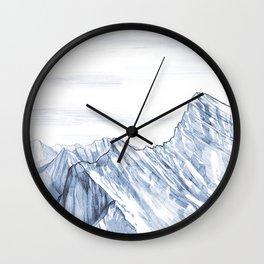 Mountain Summit Wall Clock