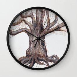 Dead and Dormant. Tree no. 1 Wall Clock