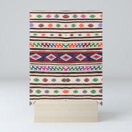 Moroccan Oriental Style Artwork Design Mini Art Print