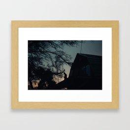Coles Bay Summer Night Framed Art Print