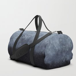 Blue veiled moon Duffle Bag
