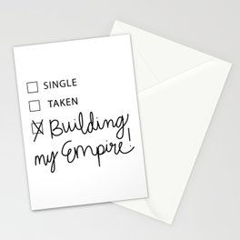 Building My Empire Stationery Cards