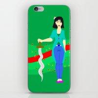 mulan iPhone & iPod Skins featuring Mulan by Eva Duplan Illustrations