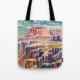 Canyonlands  Kat Ryalls Tote Bag