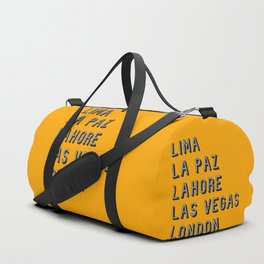 Join the Journey - London Duffle Bag