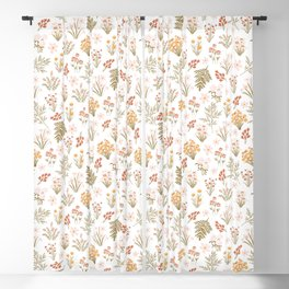 Florals Blackout Curtain