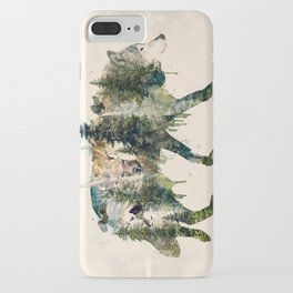 Wolf is the Pride of Nature iPhone Case