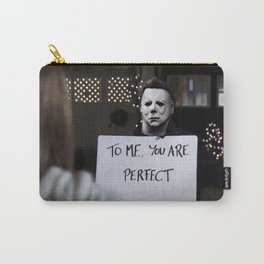 Michael Myers in Love Actually Carry-All Pouch