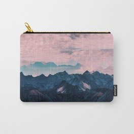 Pastel mountain mood Carry-All Pouch