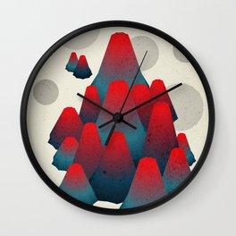 Landscape 4 Wall Clock