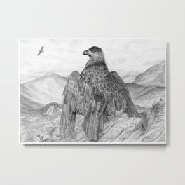 Eagle of the  Highlands Metal Print