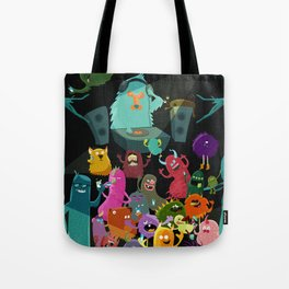 The mezcal monsters Tote Bag
