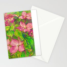 Satomi Dogwood, Pencil Sketch Stationery Cards