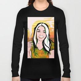 SMOKE BEAM Long Sleeve T-shirt