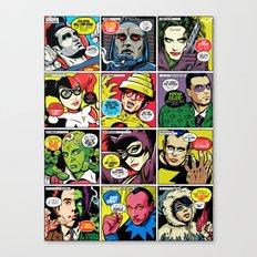 Post-Punk Baddies Canvas Print