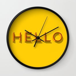 Hello, is it this you are looking for? Wall Clock