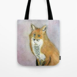 Frustrated Fox Tote Bag