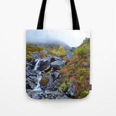 Independence Mine Waterfall Tote Bag