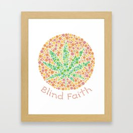Blind faith Framed Art Print