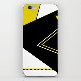 Triangular Mess iPhone Skin