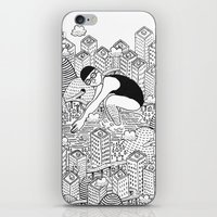 diver iPhone & iPod Skins featuring Diver by millo