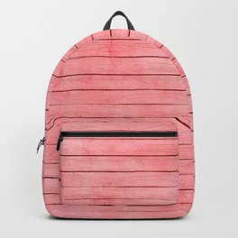Coral wood Texture Backpack