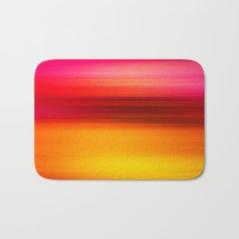 Abstract background blur motion beach with red sea Bath Mat