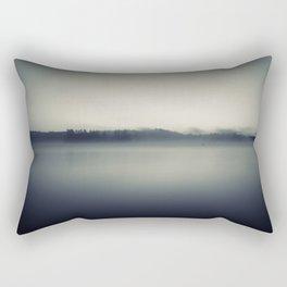 The Fog Will Flee Rectangular Pillow