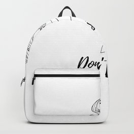 Don't stop Backpack