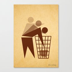 Recycling Canvas Print