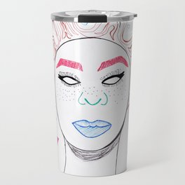 Bantu Knot Out Travel Mug