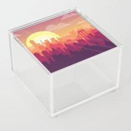 Brooklyn Sunset Acrylic Box