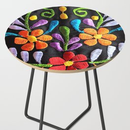 Mexican Flowers Side Table