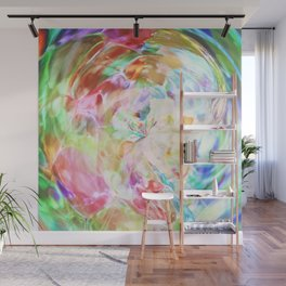 The Colors Spin Wall Mural