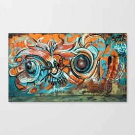Chaotic Graffiti, Graffiti Print Canvas Print