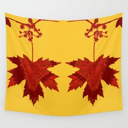 Maple in New York Wall Tapestry