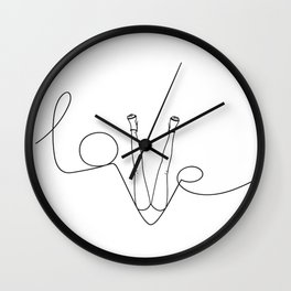 Man & LoveMe Wall Clock