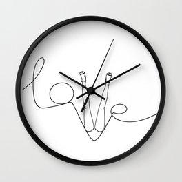 Man & LoveMe Wall Clock