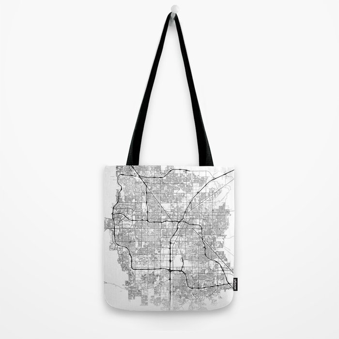 Minimal City Maps - Map Of Las Vegas, Nevada, United States Tote Bag