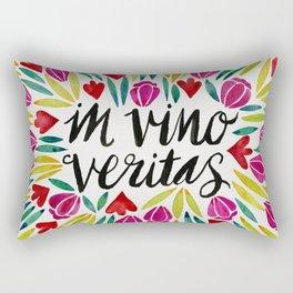 In Vino Veritas Rectangular Pillow