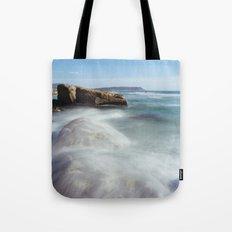 Noordhoek Beach - Long Exposure Seascape Tote Bag