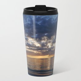 Gulf Coast November Sunset Travel Mug