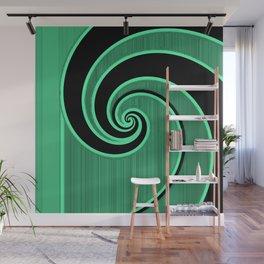 green wave Wall Mural