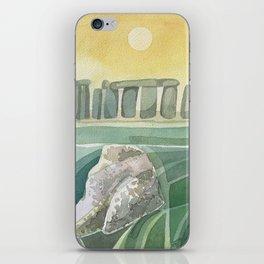 Stonehenge Wiltshire England iPhone Skin
