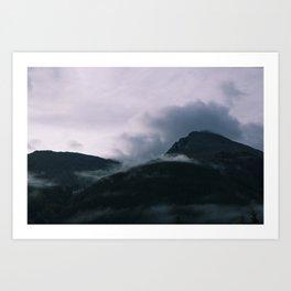 Cloud Collision - Silverton CO Art Print